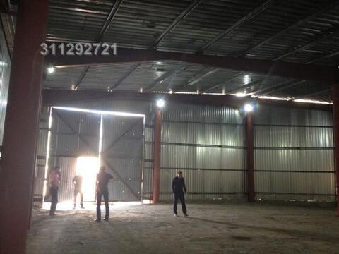 Под склад, ангар из металлоконструкций, холод, выс. потолка: 5,5 м, о - Фото 3