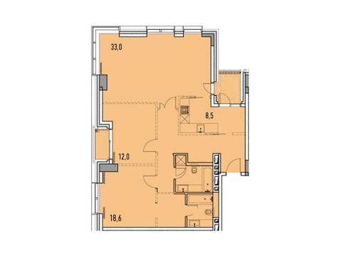 """Продается 3-к. квартира, 99 кв.м. в ЖК """"Фили парк"""" - Фото 1"""
