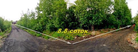 Земельный участок 8,8 соток, СНТ Надежда Ватт, Пушкинское шоссе - Фото 2