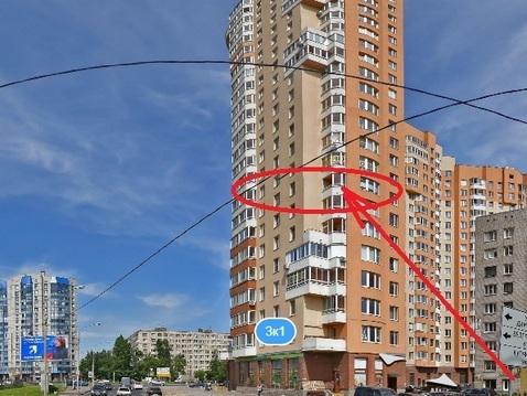 Прямая продажа двушки без отделки по собств. Димитрова 3к1 М. Купчино - Фото 1