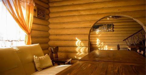 Деревянный коттедж с купелью на 15 человек в Васюково - Фото 5