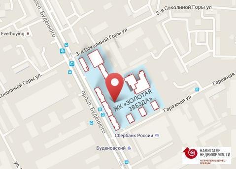 Продается 3-комн. квартира 86,83 кв.м. в Москве, ВАО, Пр-т Буденного - Фото 5