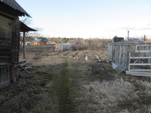 Деревянный дом и участок 6,5 сот в д.Бор Кировского р-на (85км от спб) - Фото 4