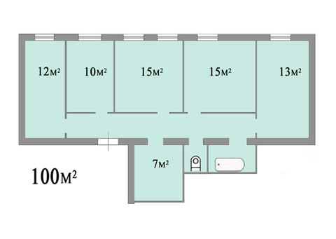 Прекрасная 5-ти комнатная квартира в историческом центре Москвы - Фото 2