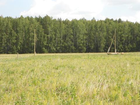 Зем. участок 10 соток, дл дачного строительства, с. Малобрусянское - Фото 3