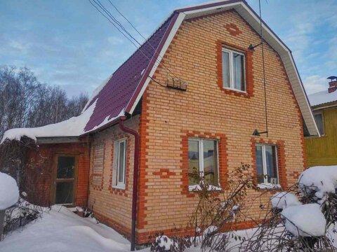 Кирпичный 2 эт. дом с печью 5,5 соток, д. Овечкино, новая Москва - Фото 1