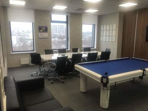 Аренда офисного помещения 50 кв.м. 3/14 эт. - Фото 1