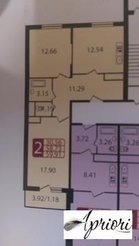 Продается 2 комнатная квартира г. Щелково микрорайон Богородский д.16. - Фото 2