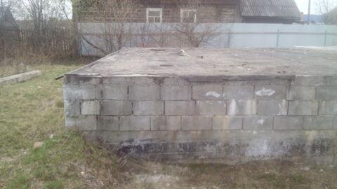 Участок с баней, гаражом и фундаментом - Фото 2
