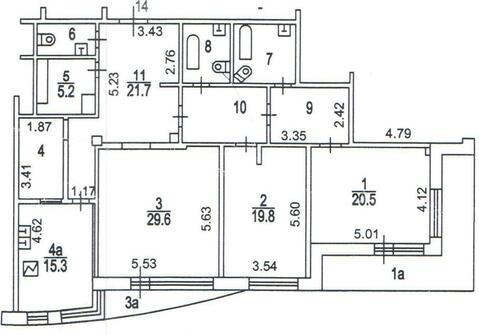 3-комн. кв. 160 м2, этаж 5/12 - Фото 2
