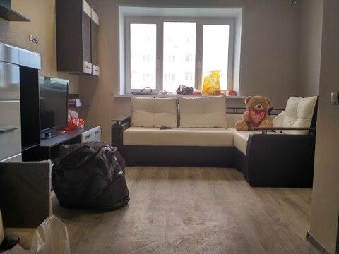 Квартира 1 к,42 кв.м, с евро ремонтом - Фото 1