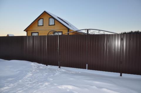 Новый дом в деревне (ИЖС) с магистральным газом,70км от МКАД. - Фото 2
