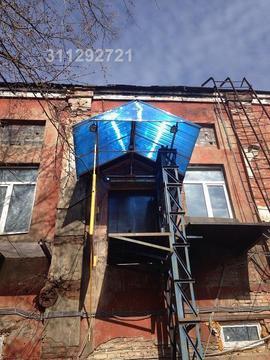 Теплый склад на территории завода искож Полуподвальное помещение в кир - Фото 1