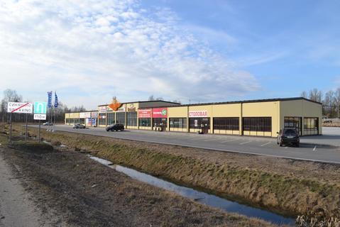 Торгово-сервисный комплекс 1800 кв.м. Синявино - Фото 1