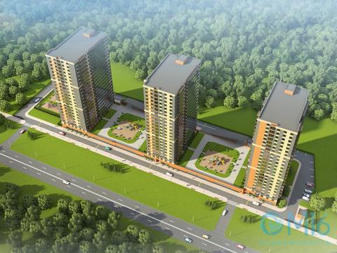 Продажа 1-комнатной квартиры в Кировском районе, 38.15 м2 - Фото 2