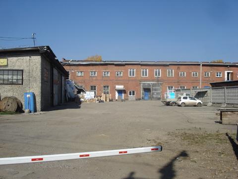 Продается производственная база в г. Иркутск, ул. Воровского - Фото 1