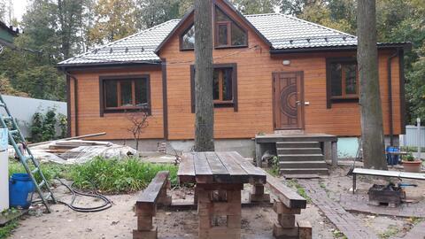 Дом 200м с участком 11 соток в д. Лапшинка, 8 км от МКАД - Фото 1
