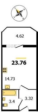 """ЖК """"Молодежный"""", Владимир, Северная ул, д.2а, Квартира на продажу - Фото 1"""
