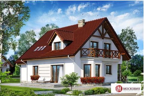 Интересный проект дома 160м2 на участке 6 соток в Новой Москве - Фото 1