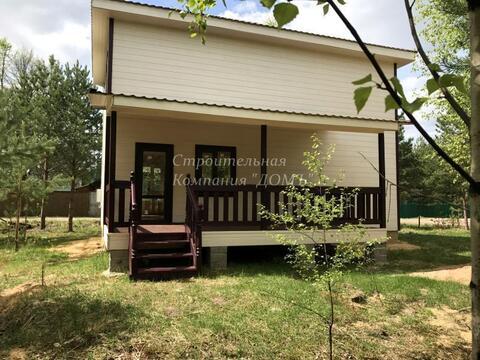 Продается зимний новый дом. 120 км от