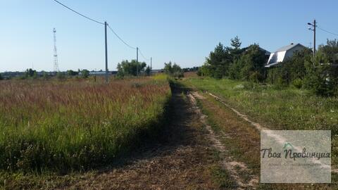 Участок 12 соток у леса в селе Ивановское Ступинского района - Фото 2