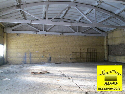 Производство-склад потолки 6м пандус, охрана - Фото 1