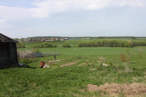 Участок в деревне для ИЖС на склоне холма с красивым видом - Фото 4