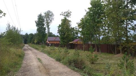 Участок в деревне 20 соток электричка круглогодичный подъезд - Фото 3