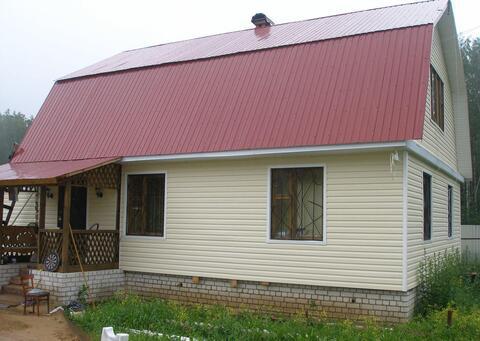 Дача 160 кв.м. с удобствами на участке 16 соток, рядом с г.Киржач - Фото 1