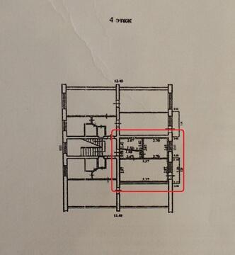 Однокомнатная Квартира Брежневской постройки с ремонтом и мебелью. - Фото 2