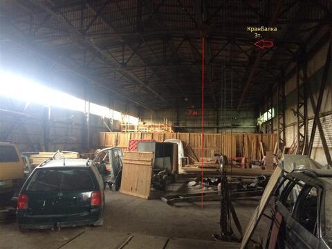 Производственная база площадью 3100 кв.м. - Фото 1