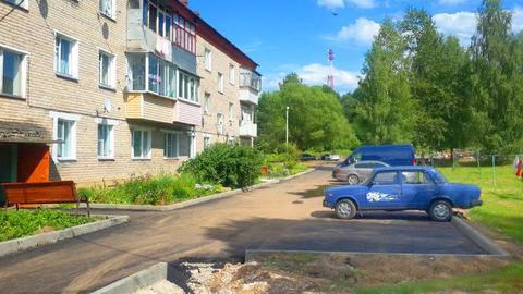 Трехкомнатная квартира в селе Спасс Волоколамского района Подмосковья. - Фото 1