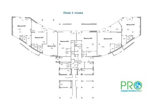 Коммерческое помещение ЖК парковый, первая линия - Фото 3
