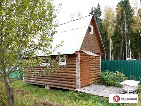 Участок 10,2 сотки с домом и баней, д. Романцево, 27 км, Калужское ш - Фото 2
