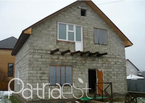 Строим дом с мансардой своими руками из газобетона