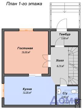 Продам квадрохаус 120м2 п. Рублево-Медвенское - Фото 2