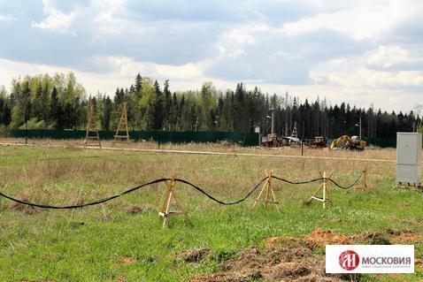 Участок 10 соток в поселке, окруженном лесом, 38 км по Киевскому ш. - Фото 4