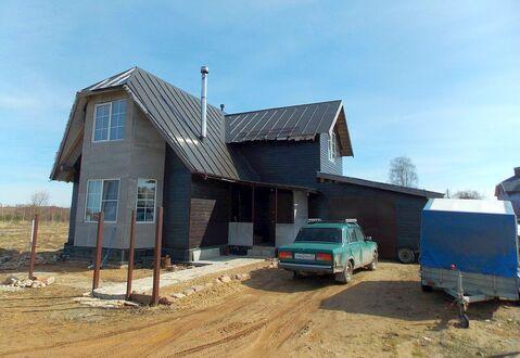 Новый двухэтажный дом с гаражом в дер. Дерябиха на краю Иванова - Фото 1