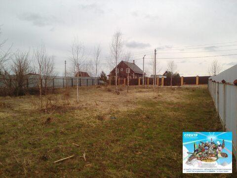Участок Чехов, Симферопольское шоссе, д. Ваулово, ИЖС, 10 соток. - Фото 1