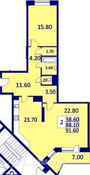 Продажа квартиры, Реутов, Реутовских ополченцев улица - Фото 2