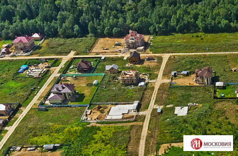 Участок 12 соток в коттеджном поселке, Киевское/Калужское шоссе - Фото 1