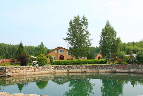 Жилой дом с бассейном, баней на шикарных 40 сотках - Фото 1