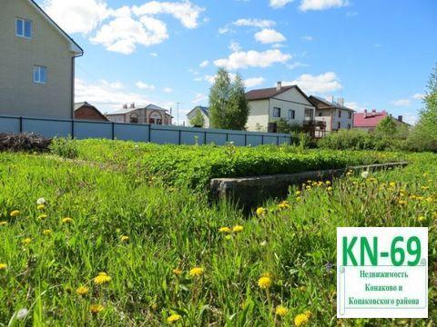 Участок в мкр Зеленый Бор города Конаково - Фото 1