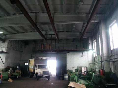 Производственное отапливаемое помещение в Колпино 1500м2 с кран-балкой - Фото 1