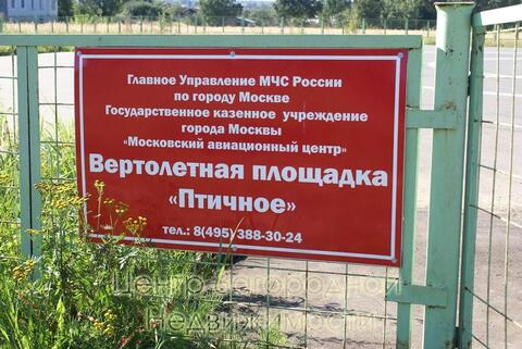 Участок, Киевское ш, 25 км от МКАД, Птичное, коттеджный поселок. . - Фото 5