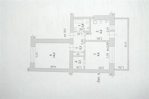 Улица Плеханова 194 А; 2-комнатная квартира стоимостью 1400000 село . - Фото 4