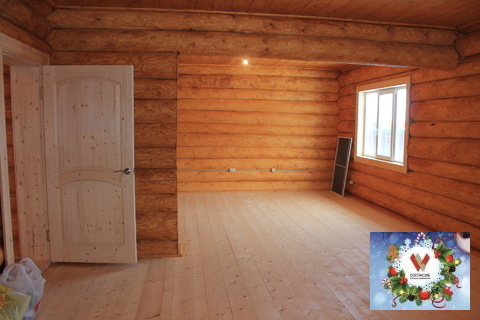 Рубленный дом с удобствами в красивой деревне Бережки на 13 сотках - Фото 5
