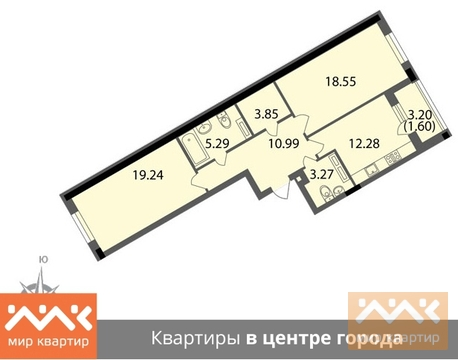 Продажа квартиры, м. Чкаловская, Ул. Пионерская - Фото 1