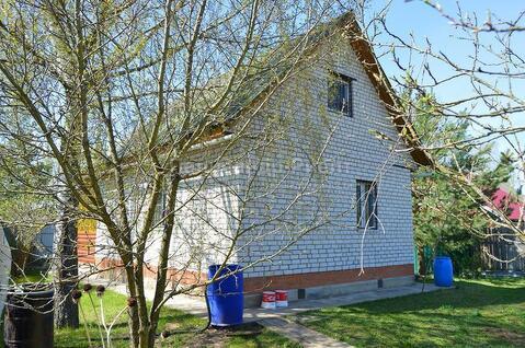 Кирпичный дом в жилой деревне на участке 15 соток. Боровск. - Фото 3