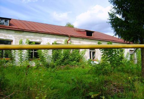 Дом 486 м2 кирпич, земельный участок 1 Га (ИЖС) в центре, рядом пруд. - Фото 1